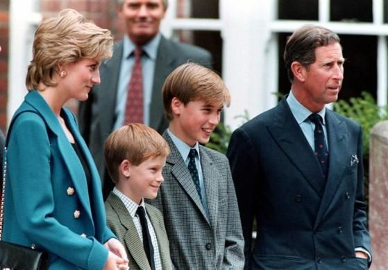 "Brothers: William Wales: Prince William (William Arthur Philip Louis) (1982-living2013) of Wales, UK & Harry Wales: Prince Henry ""Harry"" (Henry Charles Albert David) (1984-living2013) of Wales, UK with parents Diana & Charles.  They are the 2 Children of Prince Charles (Charles Philip Arthur George) (1948-living2013) Prince of Wales, UK & 1st wife (m. 1981, div. 1996) Diana Frances Spencer (1961-1997) Princess of Wales, UK."