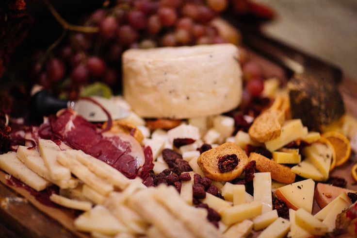 And the best meze for the amazing wine - cheese and cold cuts imported from Italy and handpicked by the groom!