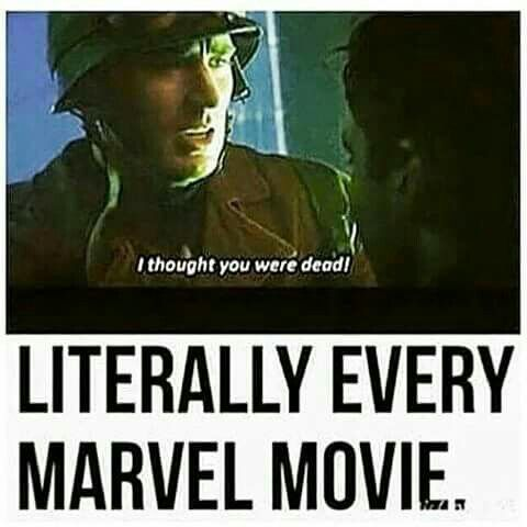 """Thor stole this line. No one mentions it. Another movie 4 million galaxies away steals Loki's """"kneel"""" line, everyone looses their damn mind"""