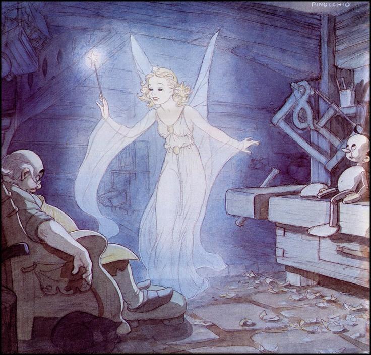 Tenggren_DisneyStudio_Pinocchio_BlueFairy
