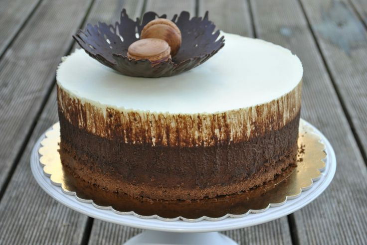 Simply triple chocolate cake