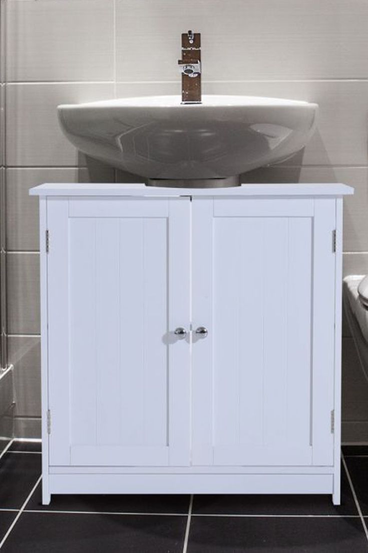 Bathroom Cabinet Sink Vanity Modern Floor Storage Base Organizer