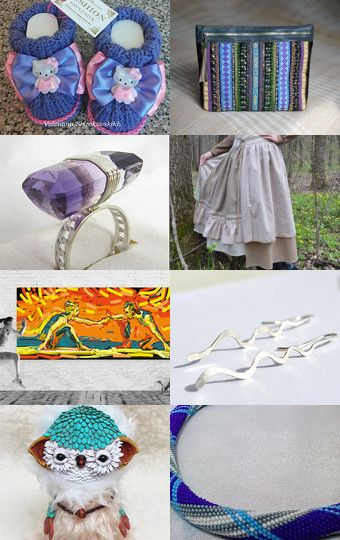My wint owly was featured in EXCLUSIVE72 - 448 by VALENTINA SHIROKOVSKIKH on Etsy--Pinned with TreasuryPin.com