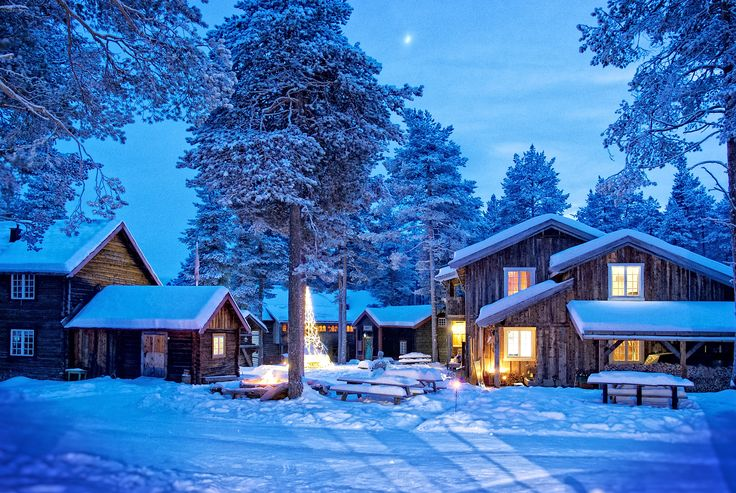 Winterwonderland - Herangtunet boutique hotel Norway
