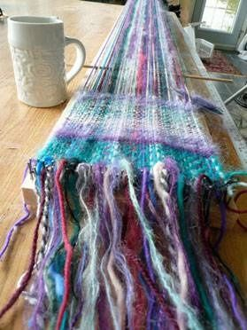 Instructions for a simple weaving loom from Mag Ruffman (I've loved her since Avonlea and now read her Toolgirl blog)
