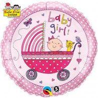45cm Rachel Ellen Baby Girl Stroller $9.95 (filled with Helium in store) Q50294