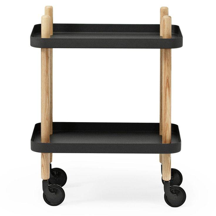 Block bord, svart i gruppen Möbler / Bord / Sidobord & Småbord hos RUM21.se (124273)