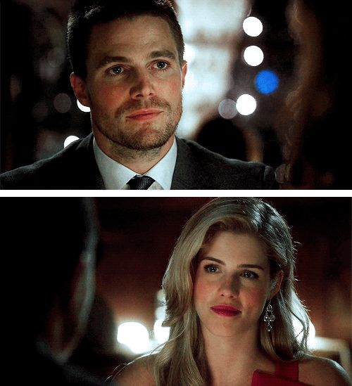 3x01 Oliver and Felicity first date