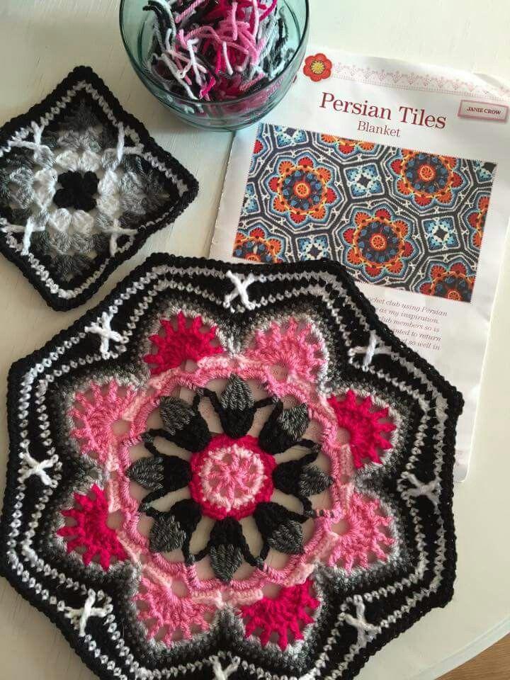 Persian crochet