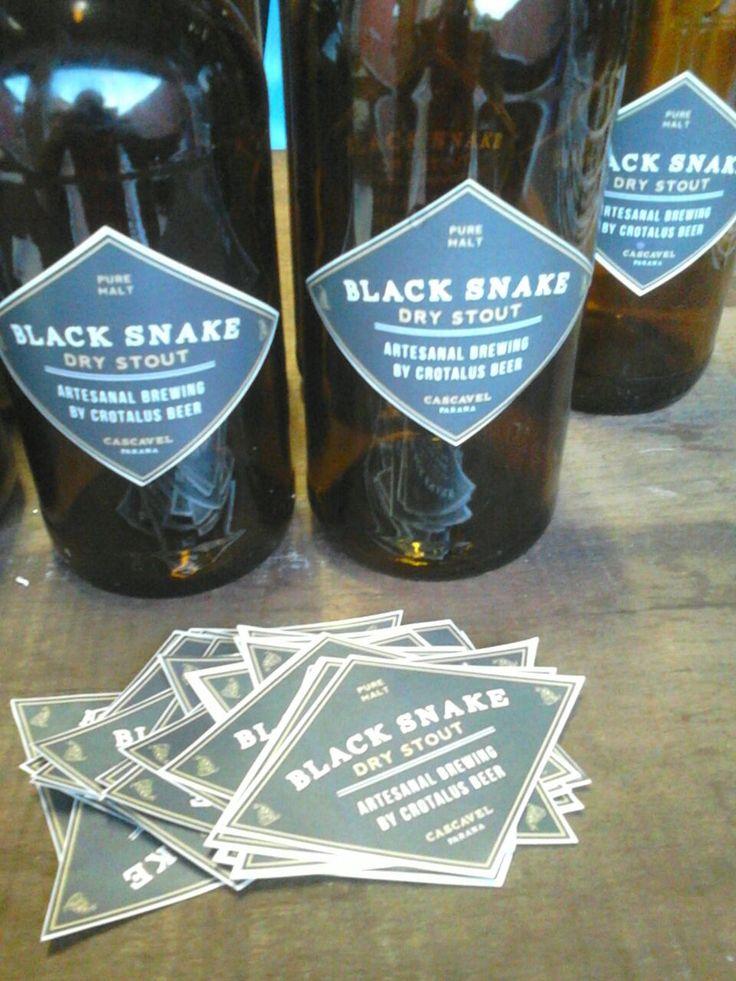 Crotalus Beer Black Snake