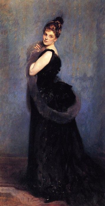 Mrs. George Gribble 1888. Джон Сингер Сарджент