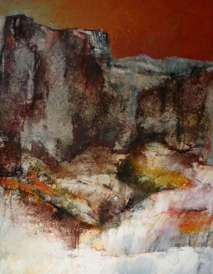 Marjan Nagtegaal - rotsen in de rode woestijn