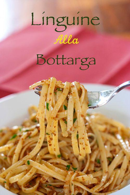 Red Shallot Kitchen: Linguine alla Bottarga
