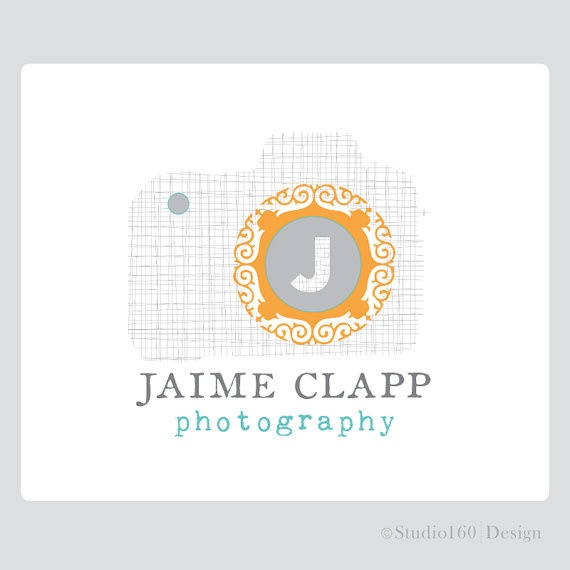 Photography Logo and WatermarkCustom Logo by studio160design, $145.00  Love the textures and patterns.