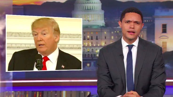 'I don't have a gun, but what I do have is an amazing Electoral College victory,' the 'Daily Show' host imagined Trump saying.