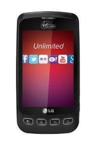 """Do more on Android with this 3G and Wi-Fi capable prepaid smartphone. Navigate on a 3.2"""" touchscreen with a virtual QWERTY keyboard and Swype text entry. Photos and web pages look fantastic on a bright, 3.2-inch QVGA display, and multitasking is a snap on the 600 MHz processor. Make calls, send messages, play music, and more hands-free using Google Voice Actions. Stream music 24/7 from past and present Virgin Mobile Festival artists with Virgin Mobile Live. http://mylinksentry.com/fj91"""
