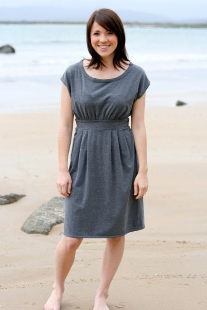 Coastal Breeze dress - I might have immediately bought this pattern and some fabric to make it.