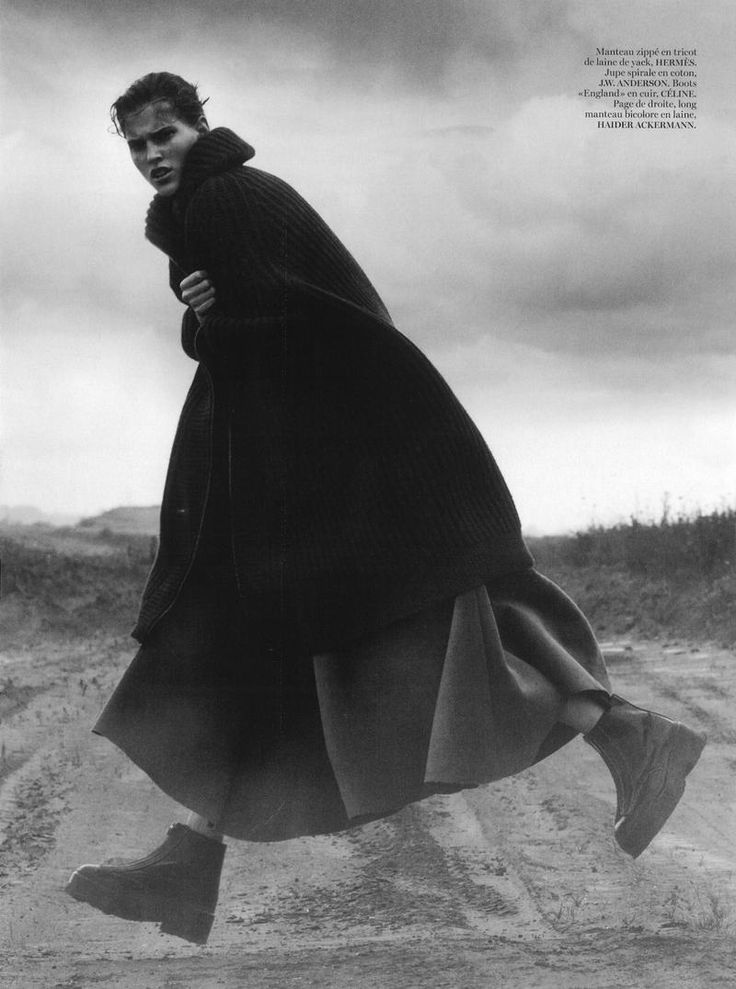 SUR LA ROUTE Niki Trefilova by David Sims for Vogue Paris October 2014