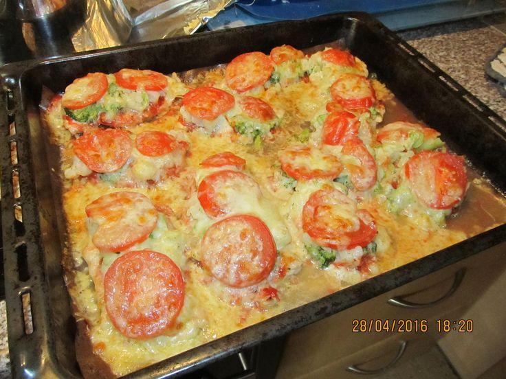 Das perfekte Schnitzelpizza mit Schnitzel nach Wahl und Schinken nach Wahl-Rezept mit Bild und einfacher Schritt-für-Schritt-Anleitung: Schnitzel (brauchen…