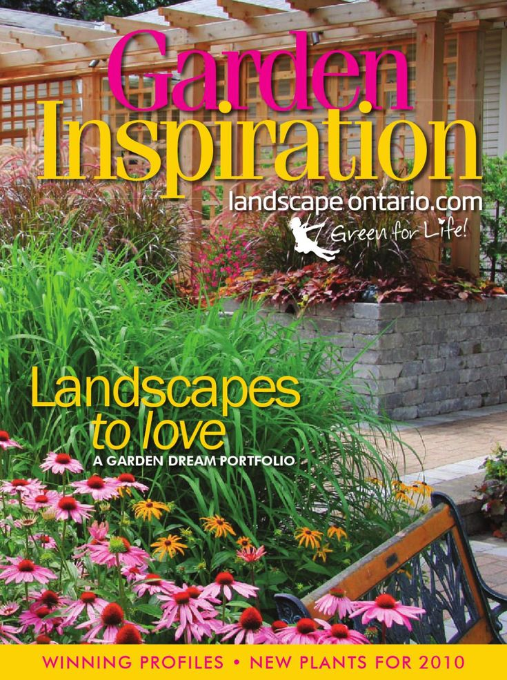 A selection of new plant varieties introduced to the market for the 2010 season and award winning landscape projects from Landscape Ontario member companies