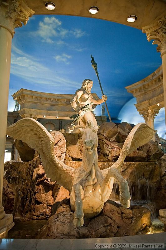 Caesars Palace, Las Vegas, USA by Mikael Rantalainen