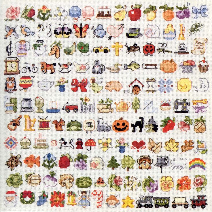 Small cross stitch patterns
