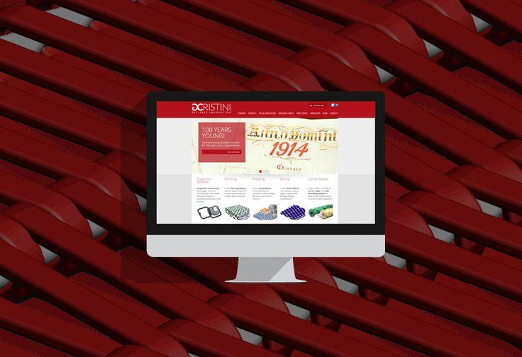 Nuovo sito in occasione del centenario e restyling logo  La storica azienda di Fiorano al Serio (BG), in occasione del centenario di attività, ha commissionato a Sostanza il restyling del suo logo e del sito web. #webdesign