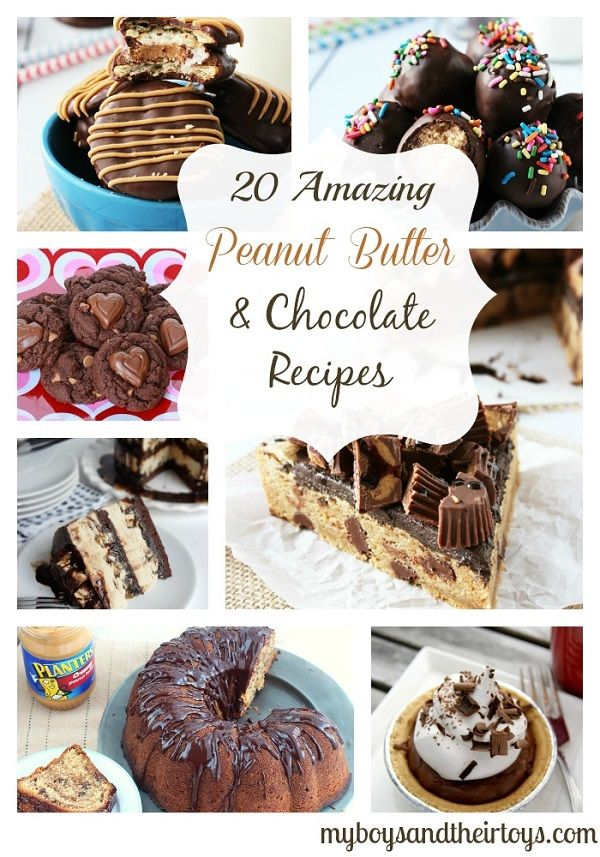 20 Amazing Peanut Butter & Chocolate Recipes