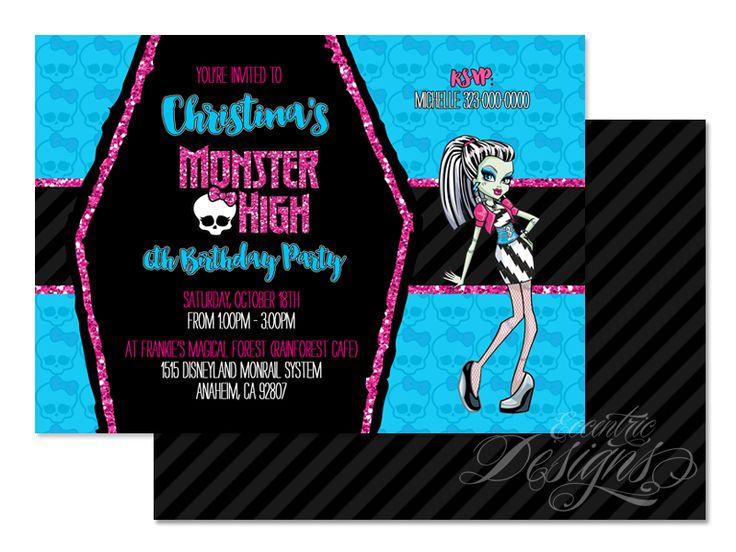 122 best Children Birthday Party Invitation Designs images on – Digital Birthday Party Invitations