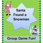 """GET ACTIVE WITH A FUNNY GROUP STORY!  Santa also found a Snowman, an Elf, a Reindeer, a Nutcracker, and even Mrs. Claus, all dancing in the snow!    This is a fun and active GROUP RHYTHM GAME, CRAFT, and SONG, where the kids create the 'moves' and add to the verses.  Game Directions, easy Song Notes, and 7 Character Templates for the story are all included.  This makes the cutest Holiday Program!  Do """"The Holiday Dance!""""  (10 pages)  Joyful Noises Express TpT!  $"""