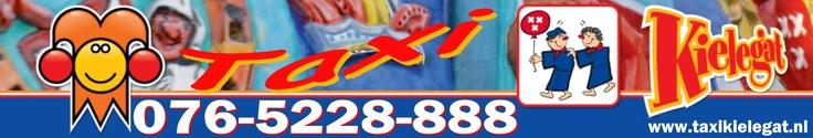 Websitebanner Taxi Kielegat Breda. Vrijdag, Zaterdag, Zondag, Maandag en Dinsdag tijdens de Carnaval heetten wij geen Taxi Service breda maar: Taxi Kielegat!