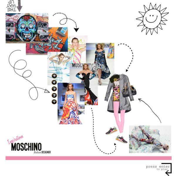 "Loops of Inspiration - ""Italian Fashion Designers Rule!"" Contest. by hana-tanana on Polyvore featuring Christopher Raeburn, Boohoo, Dolce&Gabbana, Oscar de la Renta, Moschino and italianfashion"