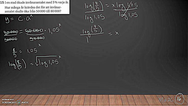 Matematik 5000 Ma 2c   Kapitel 2   Algebra och ickelinjära modeller   Di...