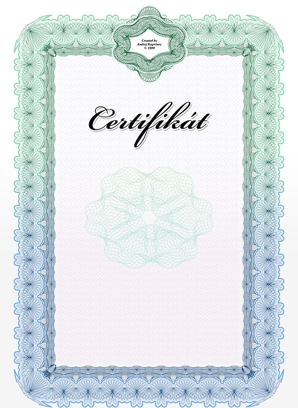 Certificate on Behance