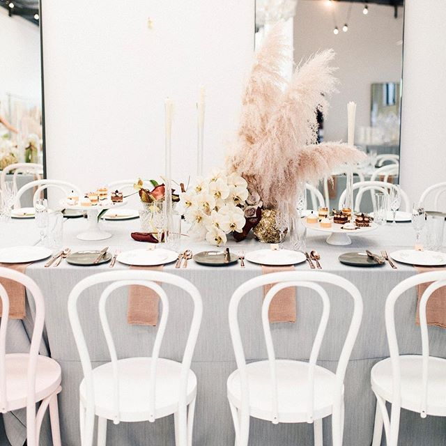 WEBSTA @ eventartillery - Reminiscing on the beautiful Mother's Day charity brunch we were part of at the @natalieroltdesigns boutique. Styled by @butcherbakerstylist flowers by @sheridantjhung Photo: @riverandfern