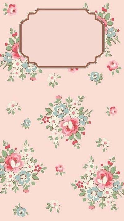 Floral phone wallpaper.