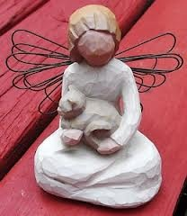 Willow Tree Angel of Kindness  Found today for two and a half dollars. (-: