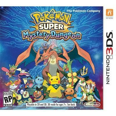Pokemon Super Mystery Dungeon 3DS. In the Pokemon Super Mystery Dungeon game, the player will be transformed into one of 20 Pokemon as they set out on an adventure in a world inhabited solely by the 7