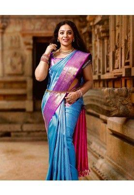 Pure Silk Sarees NM004