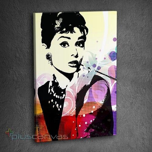 Audrey Hepburn kanvas tablo