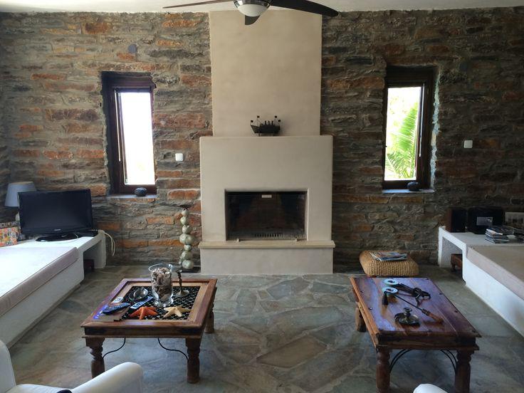 Interior design- fireplace