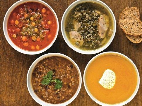 4 zupy dla biegaczy