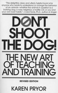 karen pryor dog training book