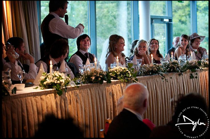 Wedding speeches at Ballymascanlon House #ballymascanlon