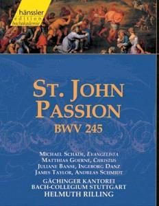 Listen to Saint John Passion - Johannes-Passion BWV 245 and feel Gods presence : Though there is not a distinct commonness that can be seen between Saint John Passion - Johannes-Passion and Crucifixion. Practically, the church and Christ can ever be thought of as different. Whenever there is a mention of church music, Christ's sacrifice and how he was crucified comes into the glory.