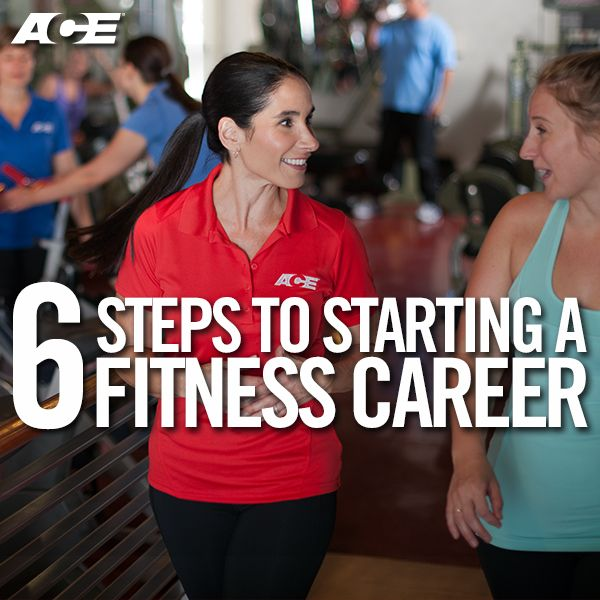 In addition to being personally rewarding, a career in fitness gives you flexibility and independence in a growing industry. Getting started can be a bit overwhelming though, especially with more than 300 certification programs on the market. To ease that burden, we put together these six steps to help get you started.