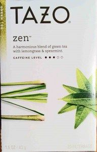 Benefits of green tea with lemongrass and spearmint
