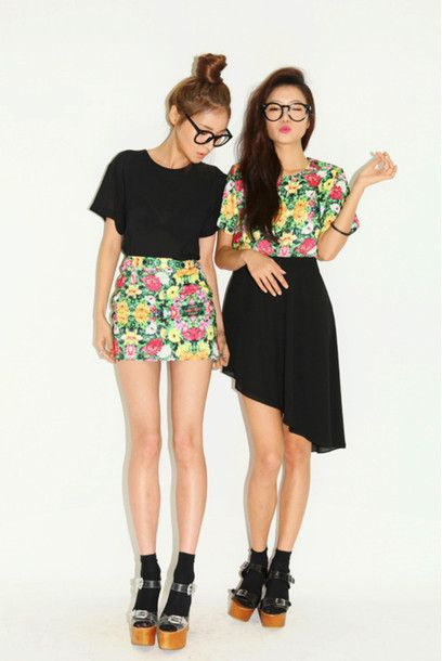 I like the one on the left...but this would be really cute if a friend and yourself wore the opposites!!