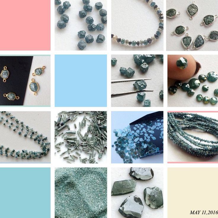 Blue Rough Diamonds - Beautiful Collection In Blue Diamonds. From diamond dust, diamond sticks, diamond cubes, rose cut diamonds, diamond connectors, diamond rosary chains, rough diamond strand, loose diamonds, diamond slices- shop now at unbeatable price