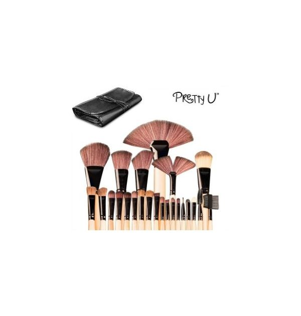 Pretty U Makeuppensler - 24 dele